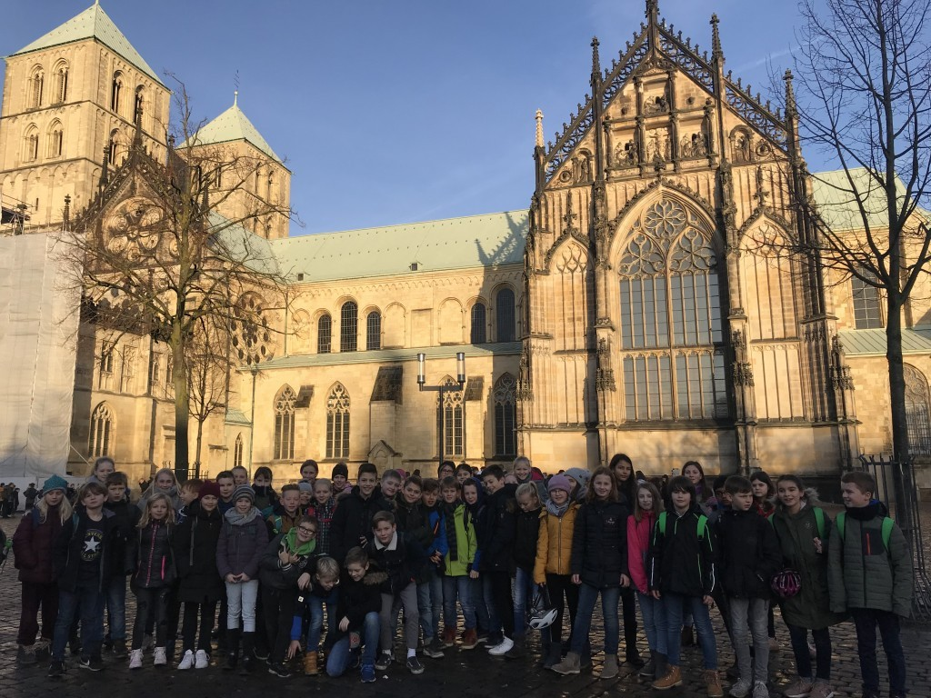 Stadtexkursion nach Münster am 19.12.2019