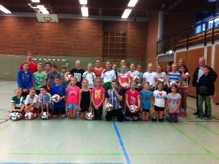 Start der Volleyball-AG